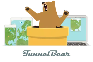 تطبيق  tunnel bear