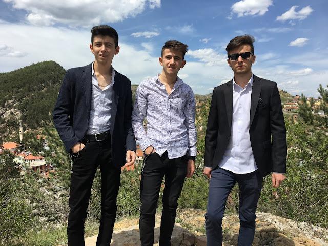Taner Keşcioğlu, Kubilay Kılıçoğlu ve Harun İstenci Kastamonu'da Mezuniyet 2019 - Mayıs 2019
