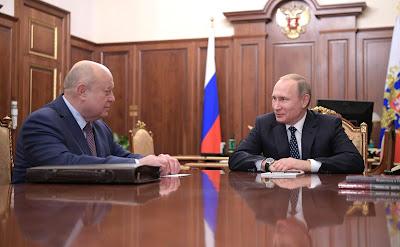 Vladimir Putin, Mikhail Fradkov, Kremlin.