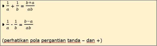 Jenis Persamaan 3