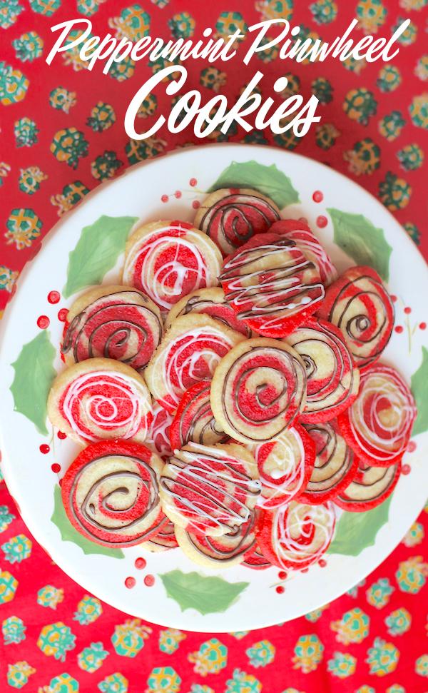 Food Lust People Love Peppermint Pinwheel Cookies Sundaysupper