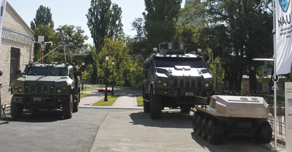 Ukrainian Armor presented its projects at Defense Investment Forum