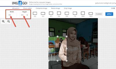 Cara Mudah Membuat Pas Foto di HP dan PC Tanpa Aplikasi