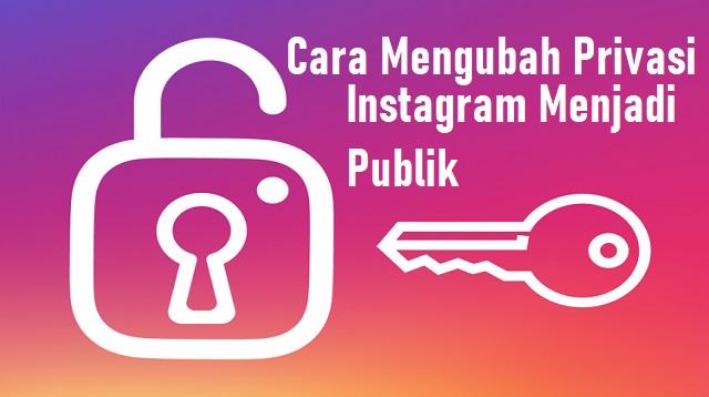 Cara Mengubah Privasi Instagram Menjadi Publik
