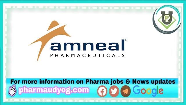 Amneal Pharma   Multiple Openings (43 Openings) for M.Pharm / B.Pharm / D.Pharm / B.Sc / ITI / Diploma Candidates   Send CV