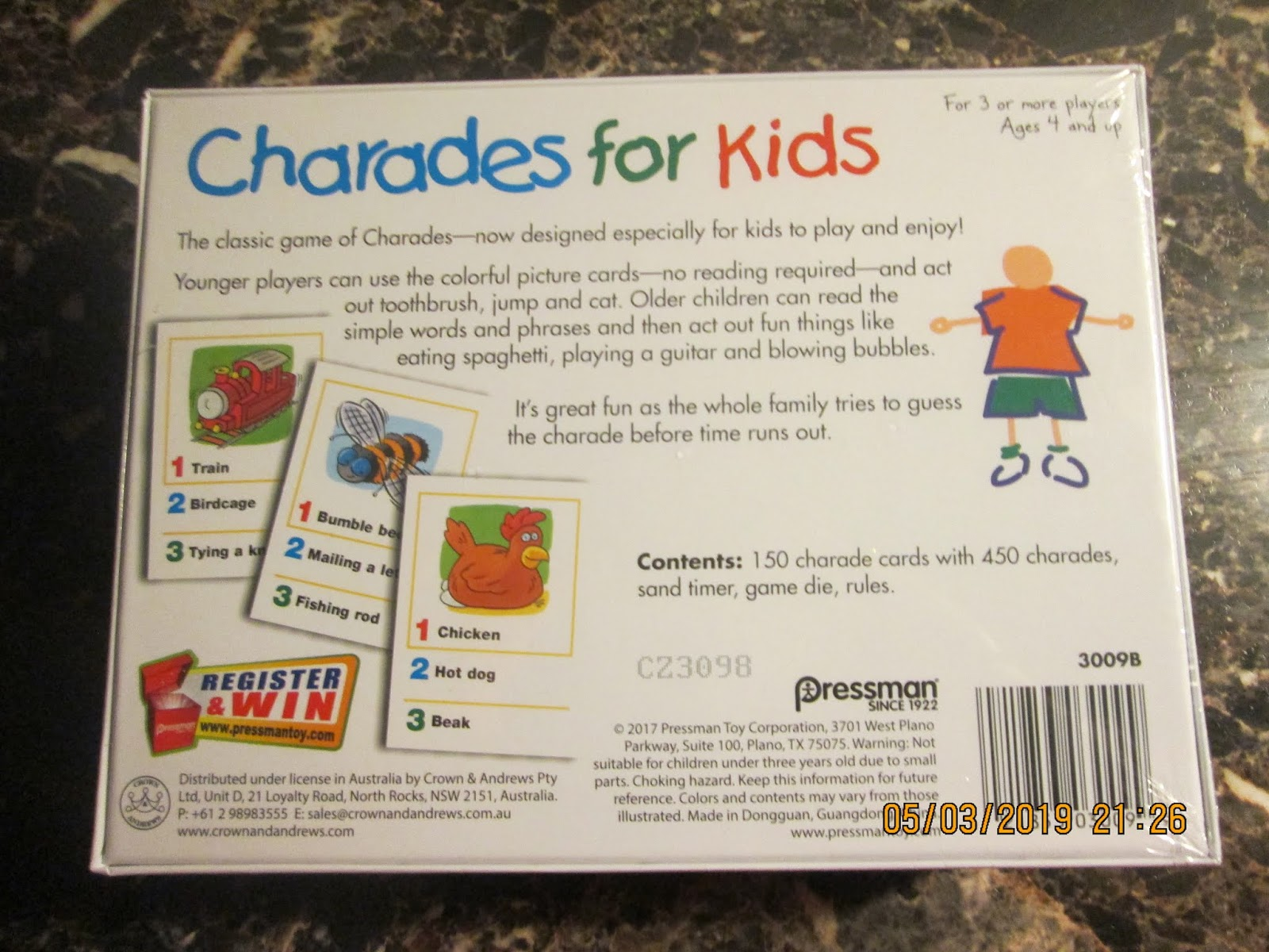 Little Helpers in Life: Charades For Kids Game Review