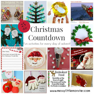 Christmas countdown arts crafts and activities