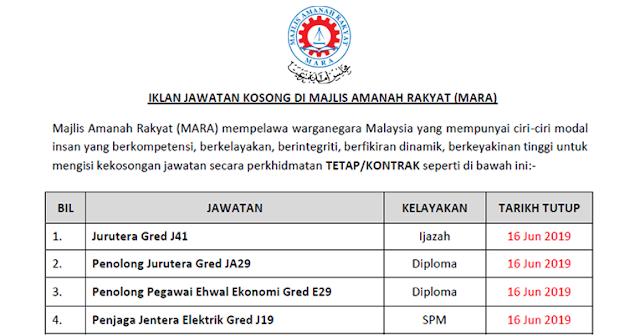 job mara 2019