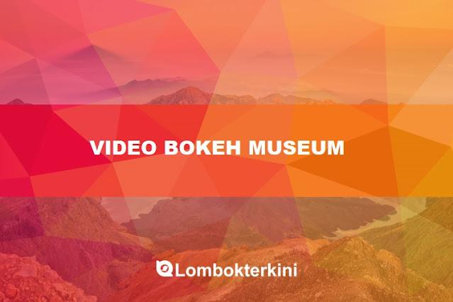 Video Bokeh Museum Internet 2021