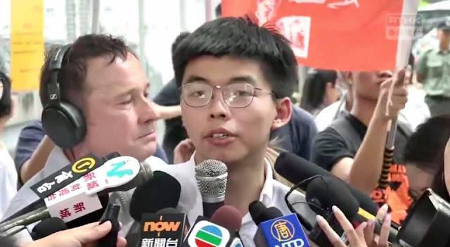 Bài phát biểu vừa ra tù Của Sinh Viên Joshua Wang, thủ lĩnh phong trào du vàng của Hồng Kông