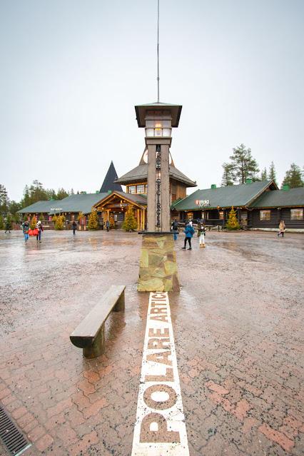 Villaggio di Babbo Natale-Santa Claus village-Rovaniemi