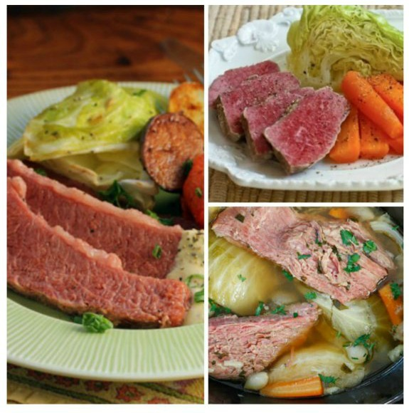 The BEST Low-Carb Corned Beef Recipes featured for Low-Carb Recipe Love on KalynsKitchen.com.