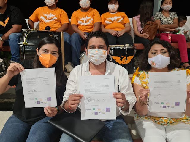 Candidatas y candidatos de MC trabajarán para erradicar la violencia contra la mujer