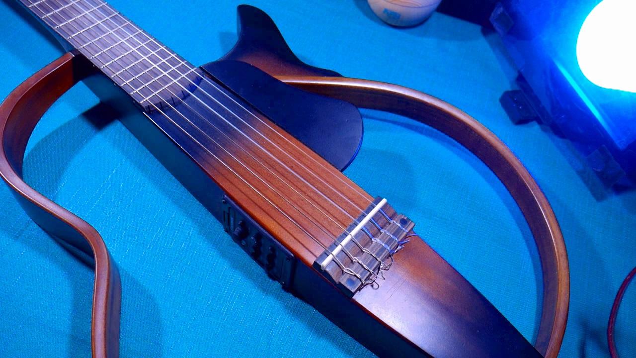 review silent gitar custom slg 200n