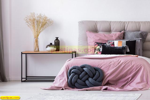 Desain Kamar Tidur Dengan Nuansa Pink
