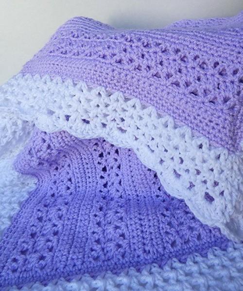 Adeline Baby Blanket - Free Pattern