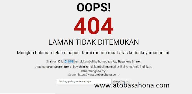 Cara Hapus Postingan Blog yang Tepat agar Tidak error 404 Terus-Menerus