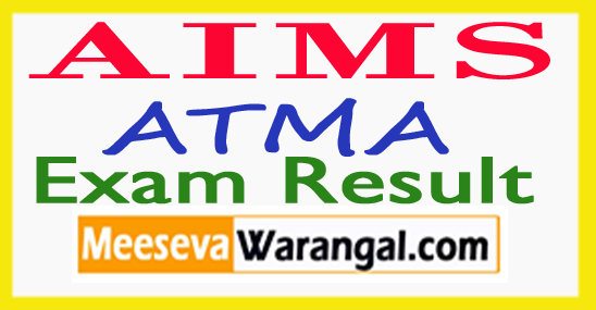 AIMS ATMA July Exam Results-2017