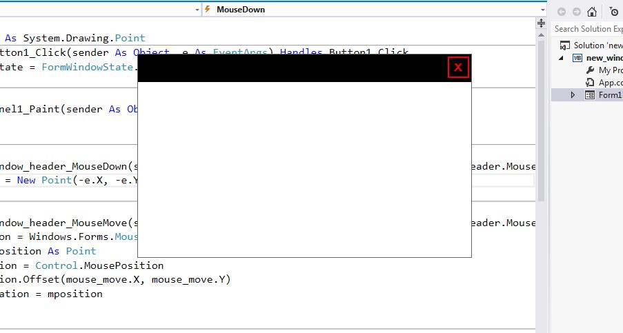 tutlogger: How to Create a Customized Windows Form on VB Net