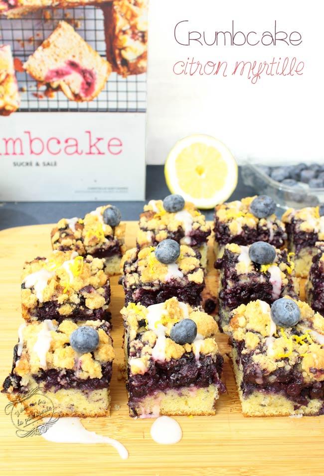 crumb cake citron myrtille