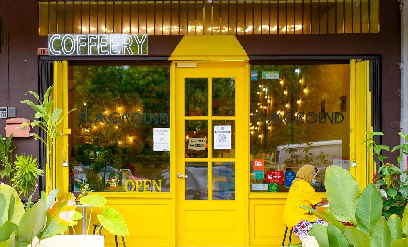 Playground Coffeery, Taman Melawati