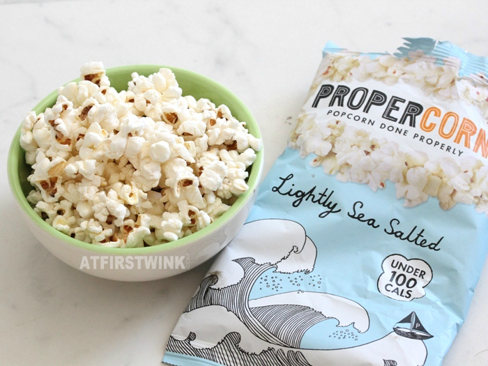 Review: Propercorn lightly sea salted