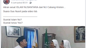 Foto Ukhuwah Habib Luthfi Dinarasikan Orang Ini Sesatkan Islam Nusantara