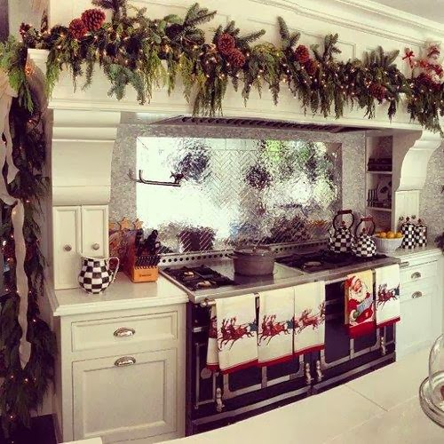 Shabby In Love: Christmas Kitchen Decor Ideas