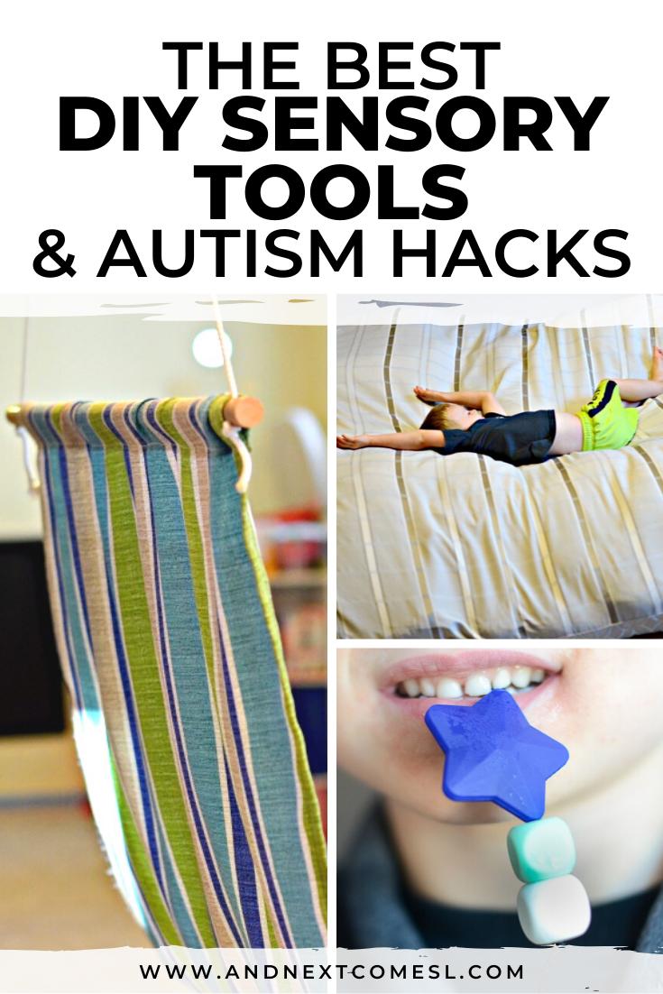 The best DIY sensory tools, sensory swings, and autism hacks for kids