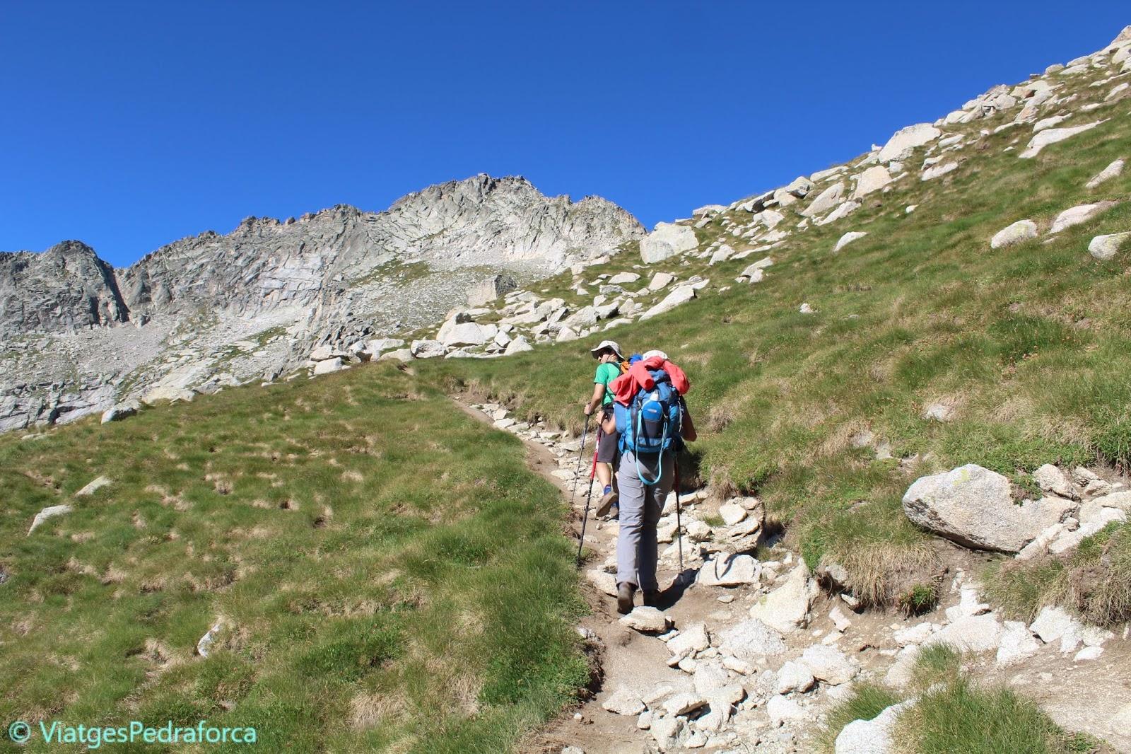 ruta de senderisme, Pallars Sobirà, Lleida, Catalunya