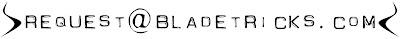 Custom knives email address Bladetricks