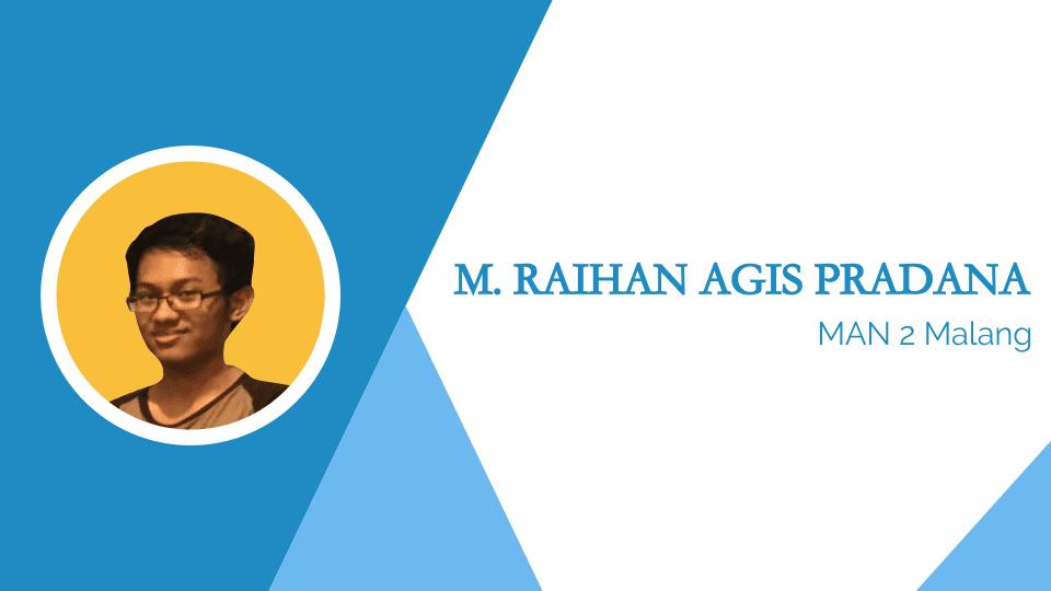Muhammad Raihan Agis Pradana