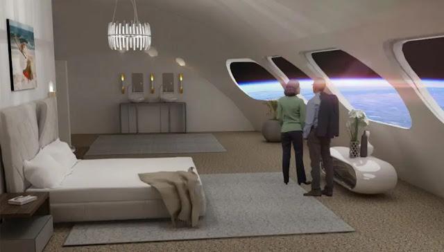 Hotel no Espaço