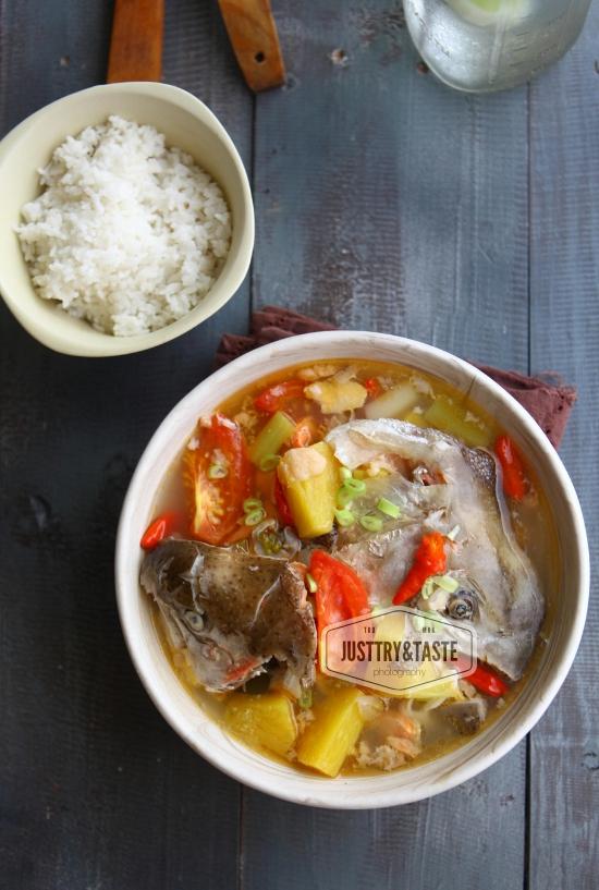 Resep Sup Kepala Salmon JTT