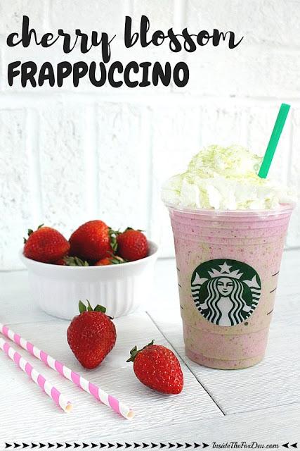 cherry blossom frappuccino copycat recipe