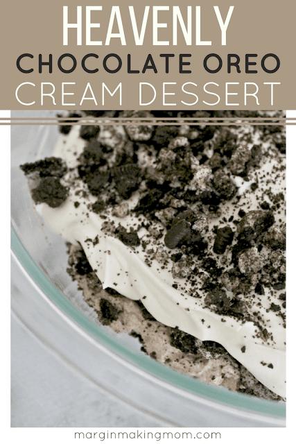 oreo cream dessert