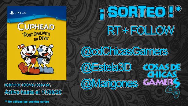 Sorteo Cuphead para PS4