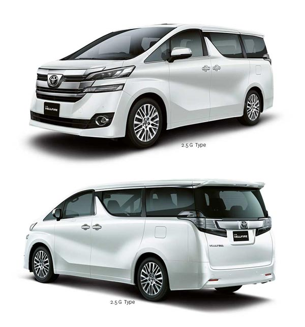 eksterior all new toyota vellfire