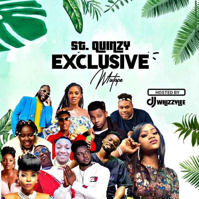 SUMMER MIXTAPE    DJ WHIZZYLEE - ST. QUINCY EXCLUSIVE MIXTAPE (Feat. Various Artists)