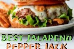 BEST JALAPENO PEPPER JACK TURKEY BURGERS