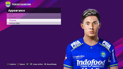 PES 2021 Faces Kim Kurniawan by SR
