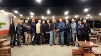 Kapolsek Paguyangan makan malam dan Halal Bihalal bersama wartawan