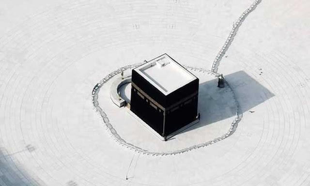 Foto foto Masjidil Haram di Saat Corona Mewabah