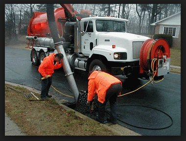 Pump Outs Unlimited Parking Lot Drain Cleaning