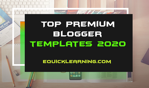 Top Premium Blogger Templates of 2020 free