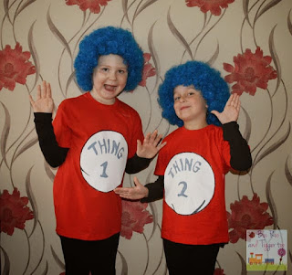 Easy Halloween Costume Ideas Thing 1 Thing 2