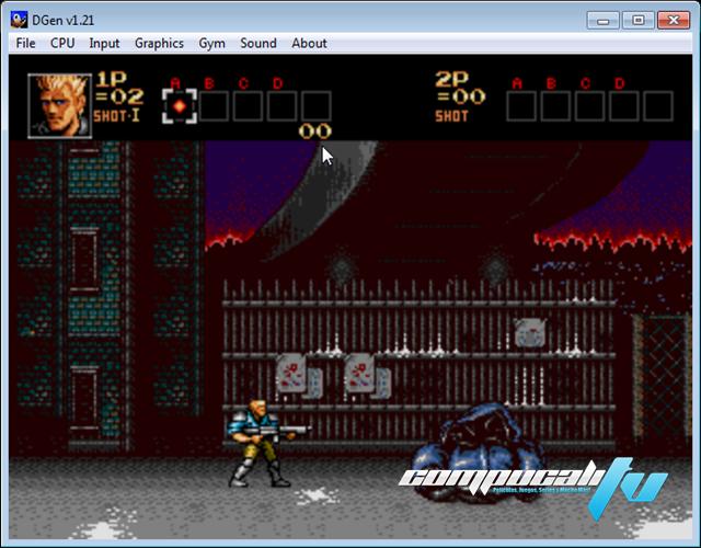 Emulador Dgen Sega Para PC 171 Roms