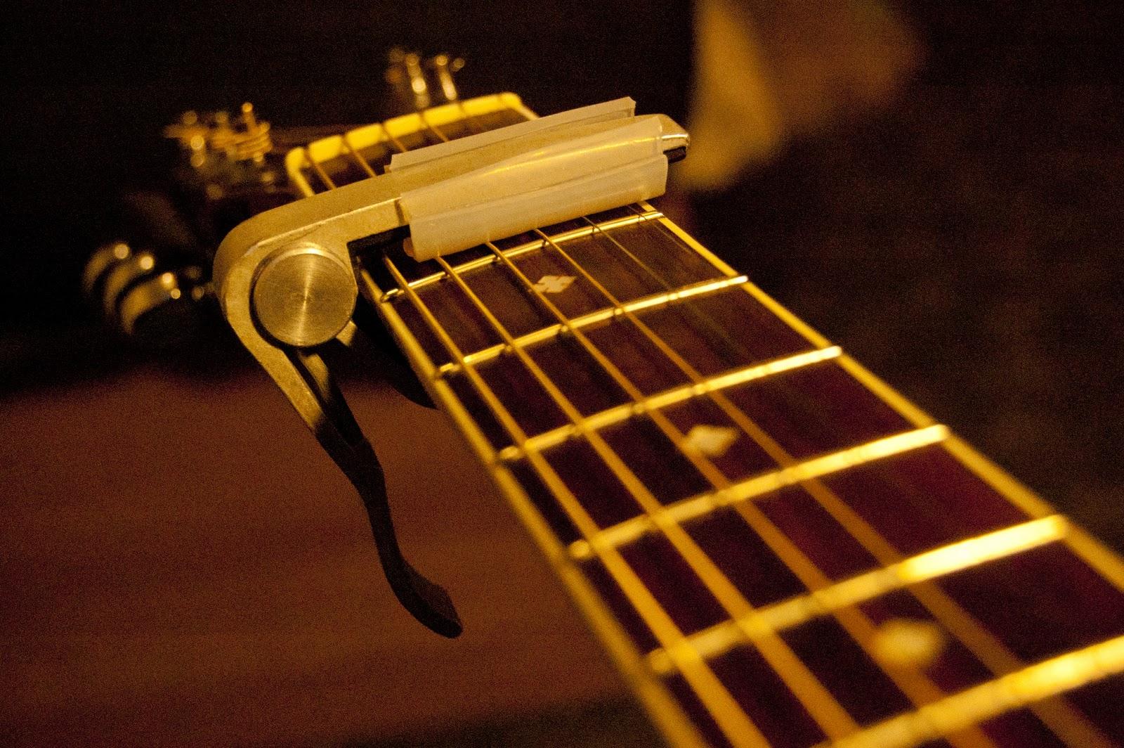 Guitart Diy A Drop D Partial Capo