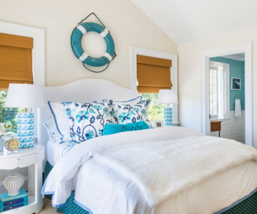 Blue Decorating Ideas for the Bedroom